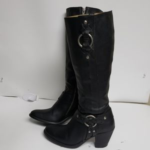 Womens  frye boots harness